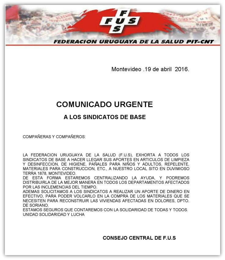 Comuncado a Sindicatos de base  19.04.2016-123